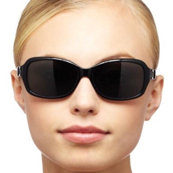 52768e7601 kate spade Accessories - REDUCED Kate Spade Annika Blk   Silver sunglasses